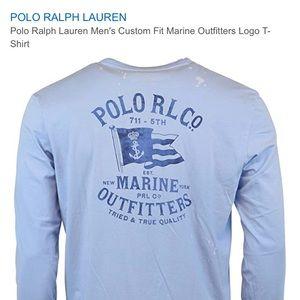 Polo Ralph Lauren Light Blue Long Sleeve Shirt